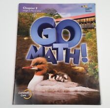 Go Math!: Student Edition Chapter 9 - Grade 2. Pub. 2015 - Like New
