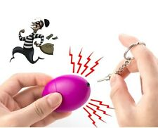 Self Defense Alarm Women Security Protect Personal Safety Scream Egg Keychain