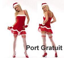 Costume de Mère Noël déguisement sexy panoplie Tailles  36 38 40 S M L
