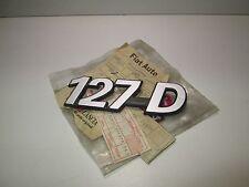 Scritta posteriore originale Fiat 127 Diesel  [3125.17]