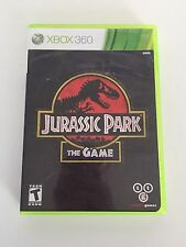 Jurassic Park: The Game (Microsoft Xbox 360, 2011) Complete