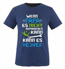 Comedy Shirts Wenn Papa Es Nada Reparar Lata Kids Camiseta