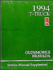 1994 Oldsmobile Bravada Shop Manual Supplement Repair Service Book FEO Original