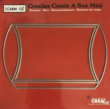 NEW Crealies Create a Box MINI No.3 CUSHION PILLOW Cutting Dies CCABM03 87x138mm