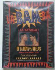 1995 Boxing Program - Oscar De La Hoya vs Rafael Ruelas - LaBAMba - Las Vegas