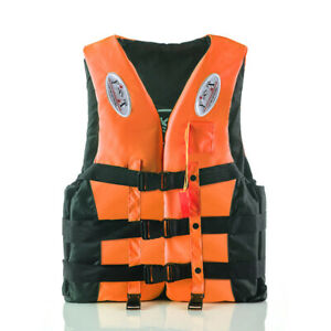 2021 New Kids Adult Life Jacket Fishing Kayak Ski Buoyancy Aid Sailing Vest