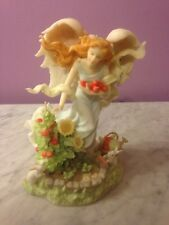 SERAPHIM CLASSICS ANGEL BRITTANY IN THE HARVEST GARDEN Figurine  g2