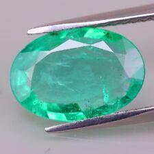 2.24cts! Bright Bluish Green Natural EMERALD Columbian Muzo Mines Collectors Gem