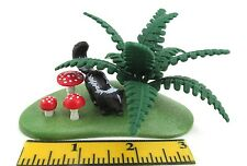PLAYMOBIL~New~Greenery~Grass~Mushrooms~Fern~Skunk~Farm~Animal~Forest~Zoo~Park