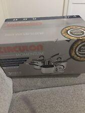 circulon momentum stainless steel 3 piece cookware set