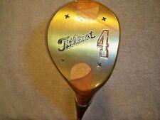 Titleist Laminated Maple #4 Wood Golf Club
