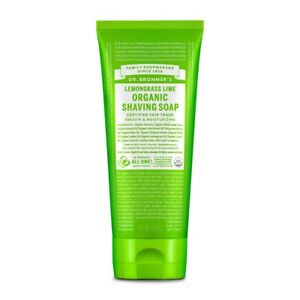 DR. Bronner's Lemongrass Lime Organic Shaving Soap 7 Fl oz. 018787940051