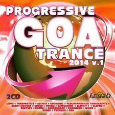 PROGRESSIVE GOA TRANCE 20-2014 VOL..1 (LUPIN, TERAPEUTICA, ...) 2 CD NEUF