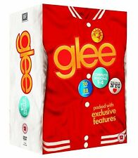 GLEE COMPLETE SEASONS 1-4 DVD BOX SET NEW SERIES UK 1 2 3 4