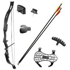 Crosman Elkhorn Jr. Compound Bow Archery Arrows Hunting Adjustable Sight Target!