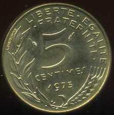 5 centimes 1975   MARIANNE   ( SPL )