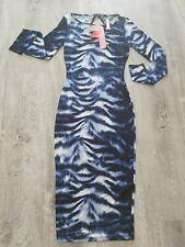 Lipsy Long Sleeve Bodycon Dress Size 8 Bnwt
