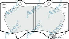 FRONT BRAKE PADS FOR TOYOTA HILUX GENUINE APEC PAD1382