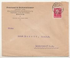 Werbe Brief 1926 Frenzel & Schmeisser Baumwollwaren Zeitz  ! (B7