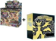 POKEMON TCG FORBIDDEN LIGHT FACTORY SEALED BOOSTER BOX + ELITE TRAINER ENGLISH