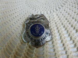 BRENTWOOD AMBULANCE-L.I.N.Y. First Aid Badge #107