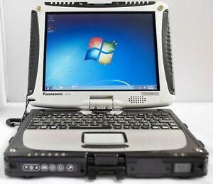 Panasonic Toughbook CF-19 MK5 i5-2520M 8GB 500GB Touch Rugged Laptop WIFI