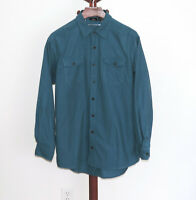 RedHead size XLT Blue Flannel Chamois Shirt Button Front Long Sleeve