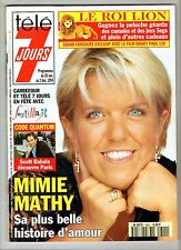 ►TELE 7 JOURS 1800/1994 - MIMIE MATHY - SYLVIE VARTAN - FREDERIC DARD - LAMA