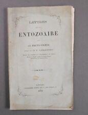 Rare et Ancien Livre de Médecine - Lettres sur un Entozaire dans la Haute-Vienne