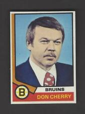 Don Cherry - Rookie Card Design Fridge Magnet - Bruins