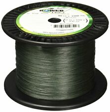 Braided Fishing Line BEST for Spinning Rods w/ 100lb Test - Moss Green (500yd)