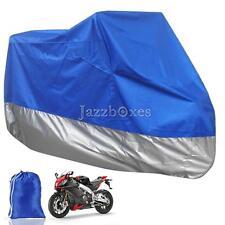 XXXL Blue Motorcycle Outdoor Cover For Yamaha V Star XVS 950 1300 Tourer Deluxe