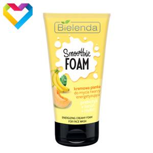 Bielenda SMOOTHIE Banana Melon - Energising Creamy Face Wash Foam 135g