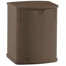 Rubbermaid Deck Storage Box, Mocha, 2.6 Cubic Feet 1828823