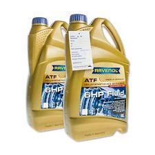 8 (2x4) Liter RAVENOL ATF 6HP Fluid Vollsynthetisches Getriebeöl