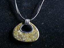 "SILPADA ""Bronze Age"" Bronzite & Sterling Necklace (N2014) 18-20"""