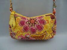 Womens Vera Bradley BALI GOLD Little Frannie Crossbody Shoulder Bag Purse
