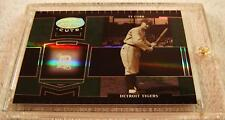 TY COBB 2004 LEAF CERTIFIED CUTS MIRROR EMERALD PARALLEL #230 SERIAL #3/5 RARE