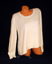 Victoria's Secret $69.50 ANGORA LONG SLEEVE SCOOP NECK SWING SWEATER Ivory S