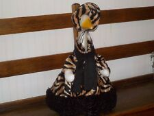 New For Your Goose: Winter Tiger Stripes Goose Outfit By Silly Goose