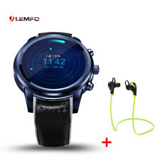 LEMFO LEM5Pro OLED Bluetooth Smart Watch 2/16GB 3G SIM GPS WiFi For Android iOS