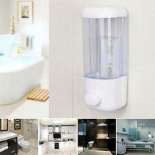 500ml Bathroom Dispenser Wall Mounted Self-Adhesive Shampoo Container Hand Press