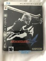 Devil May Cry 4 Steelbook Limited Edition - PS3 Playstation 3