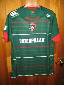Large Men's Leicester Tigers Rugby Union Shirt (2014/15) by Canterbury