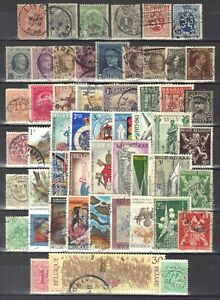 Belgium-page of stamps.