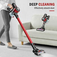 ONSON 20000Pa Cordless Handheld Stick Car Vacuum Cleaner Upright LED Floor Brush