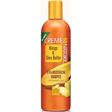 Creme of Nature Mango & Shea Butter Ultra Moisturizing Shampoo for Dry Hair 12oz