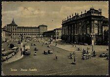 AD0856 Torino - Città - Piazza Castello - Biciclette e veicoli in transito