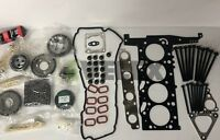 FORD TRANSIT MK6 2.4 TURBO DIESEL TIMING CHAIN KIT HEAD GASKET SET and BOLTS