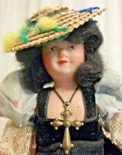 Vintage Antique Celluloid Le Minor Petitcollin France Doll Cross Eagle Mark 175